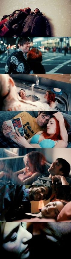 Eternal Sunshine of the Spotless Mind starring Jim Carrey and Kate Winslet