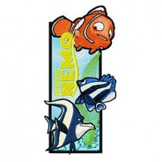 Finding Nemo Bookmark machine embroidery design. Machine embroidery design. www.embroideres.com Finding Nemo, Machine Embroidery Designs, Smurfs, Diy Crafts, Fictional Characters, Art, Embroidery Machines, Needlepoint, Art Background
