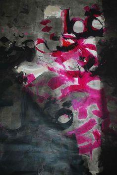 Alaa Ismail, Untitled, acrylic on canvas, 100x120cm, 2010