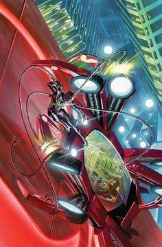 AMAZING SPIDER-MAN #30 SEOtto Octavius está de vuelta, pero no regresa a sus viejas costumbres ... ¡No, esta vez, él es el OCTOPUS SUPERIOR! ¡Y se alió con Steve Rogers e Hydra!   ¿Qué planea Ock para las industrias Peter y Parker? Nada bueno para Spider-Man, eso es seguro!