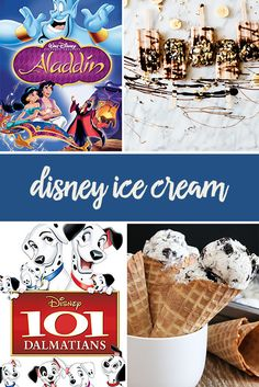 Put these Disney ice cream recipes to the test during your next movie night. From Frozen to Snow White, you'll have the perfect yummy treat to match your movie. Popcorn? No thanks.