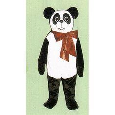 226XA-Z Christmas Panda - Team-Mascots.  See more panda bear mascot costumes at:  http://www.team-mascots.com/bear-mascot-costumes/panda226xa
