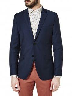 Formal slim fit jacket