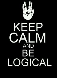 Logic is a good thing. Like a language in itself...