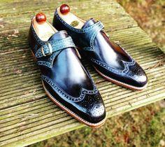 Ascot Shoes — I'd never imagine how a custom pair of Black...