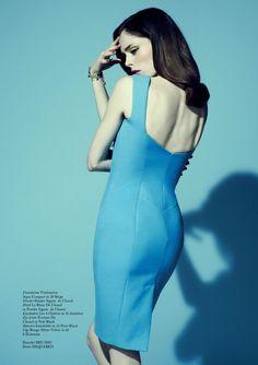 cool Glass Magazine | Editorial de Moda Primavera 2013 | Coco Rocha por Jason Hetherington