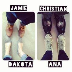 Fifty shades of grey Christian Grey Anastasia Steele dakota johnson jamie dornan