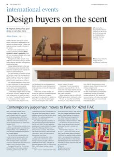 Antique Trade Gazette 10 octobre 2015 #ATG #MauriceEsteve #FIAC2015 #FIAC