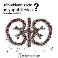 Böbrek hastalıkları oldukça sessiz ilerleyen ve hayati sonuçları olan rahatsızlıklardandır. Böbrek hastalıklarının oluşma riskini ortadan kaldırmak için yapabileceğiniz birçok şey var. Kan şekerinizin seviyesini düzenli ölçün!  Tansiyonunuzu takip edin! Kilonuzu kontrol edin! Sıvı alımına dikkat edin. #medicopincom #medicopin #medihis #digitalhealth #ikincigörüş #secondopinion #medikalarşiv #medicalarchive #dünyaböbrekgünü #worldkidneyday #böbreksağlığı