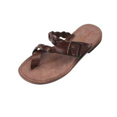 Sandalo glamour marrone da uomo Ciabatta c69a44688f6