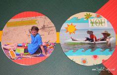CD SCRAPBOOK - JOYFUL DAISY