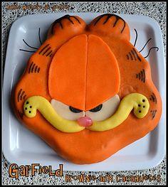 gâteau garfield