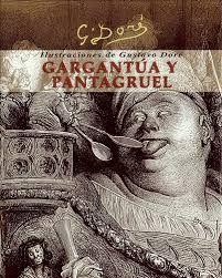"""Literatura renacentista: """"Gargantúa y Pantagruel"""" es un conjunto de cinco novelas escritas en el siglo XVI por el francés, François Rabelais. Narra la historia de dos gigantes: un padre,Gargantúa, y su hijo Pantagruel, y de sus aventuras, escritas de forma satírica, entretenida y extravagante. Describe de manera sarcástica a los escolásticos medievales."""