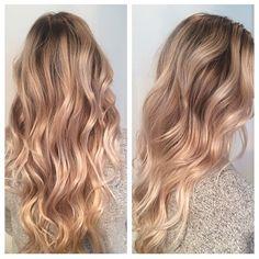 """""""Warm honey blonde. Color by @jillboeckh #hair #hairenvy #hairtalk #haircolor #blonde #honeyblonde #highlights #newandnow #inspiration #maneinterest"""""""