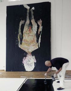 Georg Baselitz painting