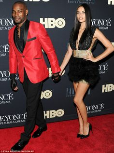 Tyson Beckford and His Wife | Model couple: Models Tyson Beckford and his girlfriend Shanina Shaik ...