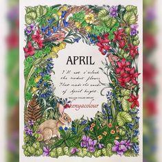 Colouring, Coloring Books, Paper Binder, Month Colors, New Month, Flower Hats, Botanical Art, Kenya, Color Inspiration