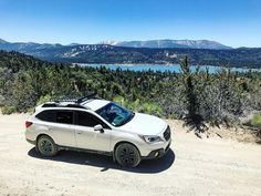 (@outback_ventures) op Instagram: 'A little AWD action with Big Bear Lake for a view! #subaru #subaruoutback #subiedaily #adventure…'
