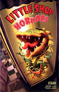 Little Shop of Horrors the Musical Broadway Poster                                                                                                                                                                                 More