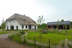Nieuwbouwproject rieten dak in boerderijstijl in Heerde | Rietdekkersbedrijf De Rietdekker