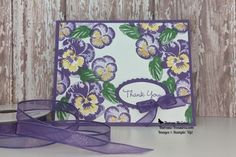 Thank You Images, Thank You Cards, Daffodils, Pansies, Car Card, Mothers Day Weekend, Color Contour, Masculine Cards, Large Flowers