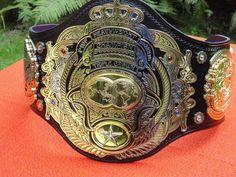 New AJPW Triple Crown Championship Belt 2013 #AJPW #puro #wrestling #japan