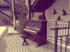 Happiness is playing the piano