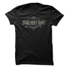 Seek Justice Love Mercy T Shirts, Hoodies, Sweatshirts. CHECK PRICE ==► https://www.sunfrog.com/Faith/seek-justice-love-mercy-tee.html?41382
