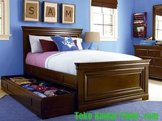 Kellogg Full Size Panel Bed The Boys Need This