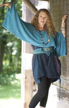 Mistingay Sweater Shrug UnPrinted : Blue Fish Clothing