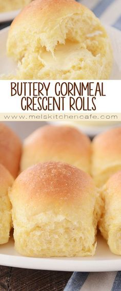 Buttery Fluffy Cornmeal Dinner Rolls The hint of cornmeal mingled with the light sweetness of the dough make these extra-fluffy, cornmeal dinner rolls one of my favorite rolls of all time! Muffins, Dinner Rolls Recipe, Quick Dinner Rolls, Sourdough Dinner Rolls, Quick Bread Rolls, Biscuit Bread, Yeast Bread, Bread Bun, Bread Machine Recipes