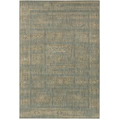 The Arabesque Rug is made by experts by merging form with function at Surya and is translated as the most relevant apparel and home decor trends into fashion-forward products across a range of styles and price points.    100% Polypropylene  Backing: N/A  Machine Made  Medium Pile  Color: Charcoal, Beige, Olive  Made in Egypt