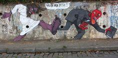 Chi è l'artista del murale anti-Mondiali? http://www.fanpage.it/chi-e-l-artista-del-murale-anti-mondiali-intervista-a-paulo-ito/