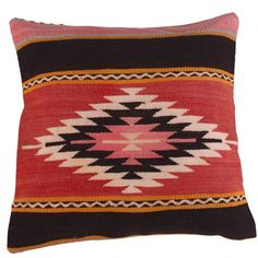 Our authentic Kilim cushions are handwoven and dyed with natural dyes. They are all unique and often have geometric patterns. A Kilim is an original carpet from the Middle-East that was used for having visitors or for praying. Kilim Cushions, Throw Pillows, Geometric Patterns, Dyes, Middle East, Bohemian Rug, Hand Weaving, Carpet, Natural