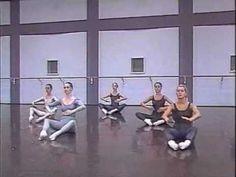 Martha Graham Technique Class DVD Part 1/B by Phyllis Gutelius