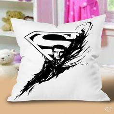 Best Batman vs Superman custom design logo Pillow Cases