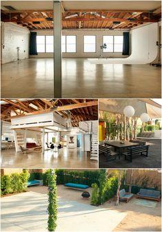 Mid Century Modern Daylight Studio