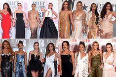 Outfits at the Brits 2015-2016-2017-2018
