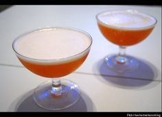 a wonderful drink-the pisco sour from peru
