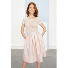 Petticoat skirt #rosequartz #minimalism