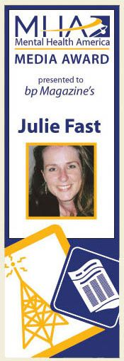 #HAAwards - Best in Show: Blog Nominee - Julie has helped untold numbers of people with her books and her blogs. Her work has helped so many people manage their illness better, and brought a sense of community to people who need support, and who need to know they are not alone.