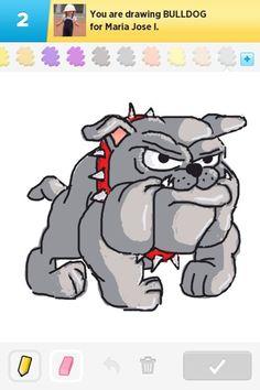 Bulldog Drawings | Bulldog Drawings - How to Draw Bulldog in Draw Something - The Best ...