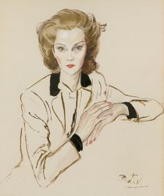 Cecil Beaton - Princess Natalie Paley By Cecil Beaton | From a unique collection of Fine Art at http://www.1stdibs.com/art/