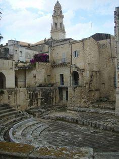 Lecce, teatro romano (da non confondere con l'anfiteatro di p.zza S. Oronzo)