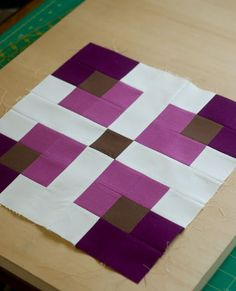 Quality Sewing Tutorials: Tonganoxie Nine Patch tutorial by Amanda Jennings for Patchwork2