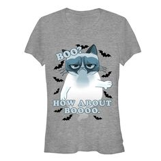 Grumpy Cat Junior's - How About Boo T-Shirt