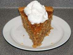 I was hooked on this pie from the first bite! It has become a tradition at our Thanksgiving dinners. I use a little less sugar than the recipe calls for, but you may want to follow the recipe the first time.