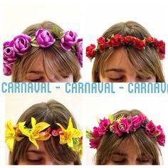 arranjos cabeça carnaval - Pesquisa Google