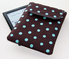 Padded Kindle Paperwhite Sleeve Turquoise by WhimsyWooDesigns, £17.50