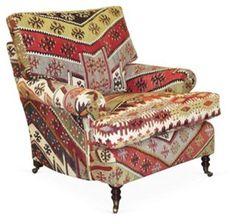 OKL Exclusive Signature Kilim Arm Chair